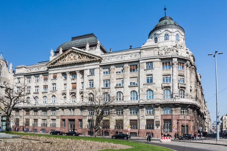 A Belügyminisztérium épülete