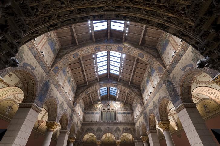 Több mint hetven év után elõször lesz látható a múzeum felújított Román csarnoka amelyet március 15-tõl húsvétig ingyenesen megtekinthet a közönség.