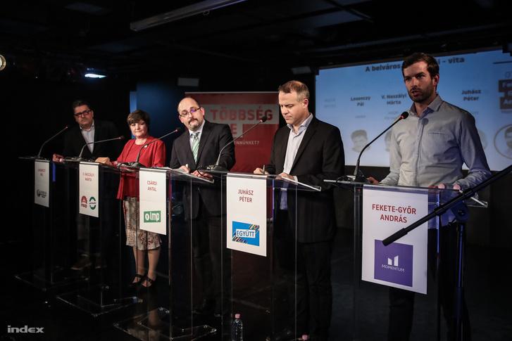 Losonczy Pál, V. Naszályi Márta, Csárdi Antal, Juhász Péter és Fekete-Győr András