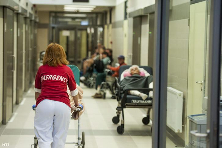 Beteget tolnak a Pécsi Tudományegyetem Klinikai Központjának sürgősségi betegellátó osztályán