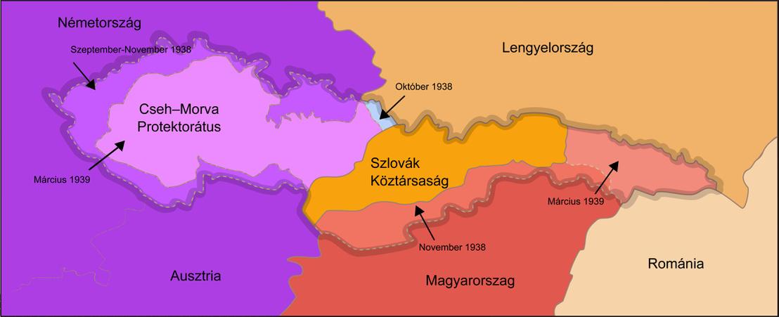 Csehszlovákia felosztása Münchenben