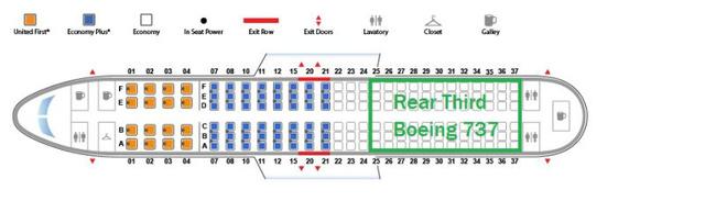 A legbiztonságosabb ülések egy Boeing 737-es gépen