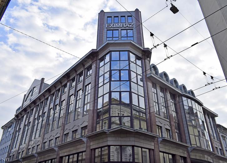 Az EXIMHÁZ az Eximbank épülete a VI. kerület Nagymezõ utca 46-48-ban.