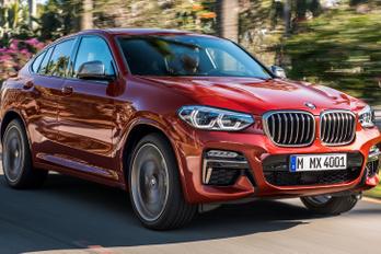 Nagyobb és erősebb lesz a BMW X4