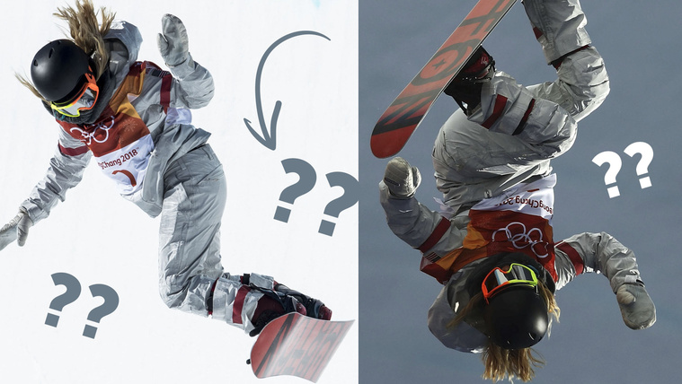 Fejjel lefelé vagy hogy repülnek ezek a snowboardosok?