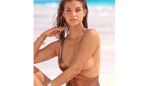 Palvin Barbara egyre pikánsabb fotókkal szerepel a Sports Illustratedben