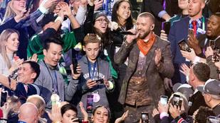 Justin Timberlake-et összehozták a telefonos kissráccal