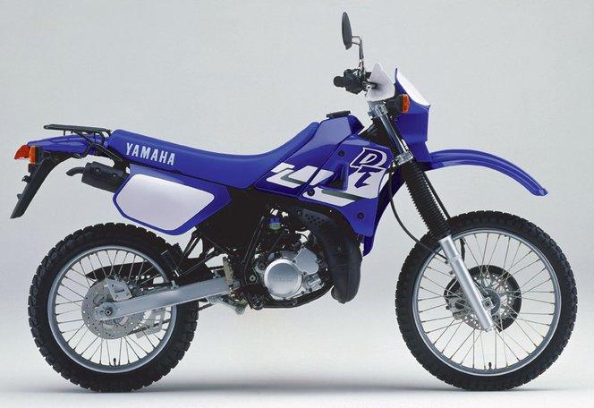 Yamaha DT125 - már hátul is tárcsafékes