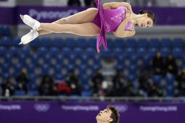 A cseh Anna Duskova és Martin Bidar
