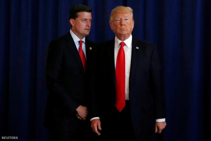 Rob Porter és Donald Trump