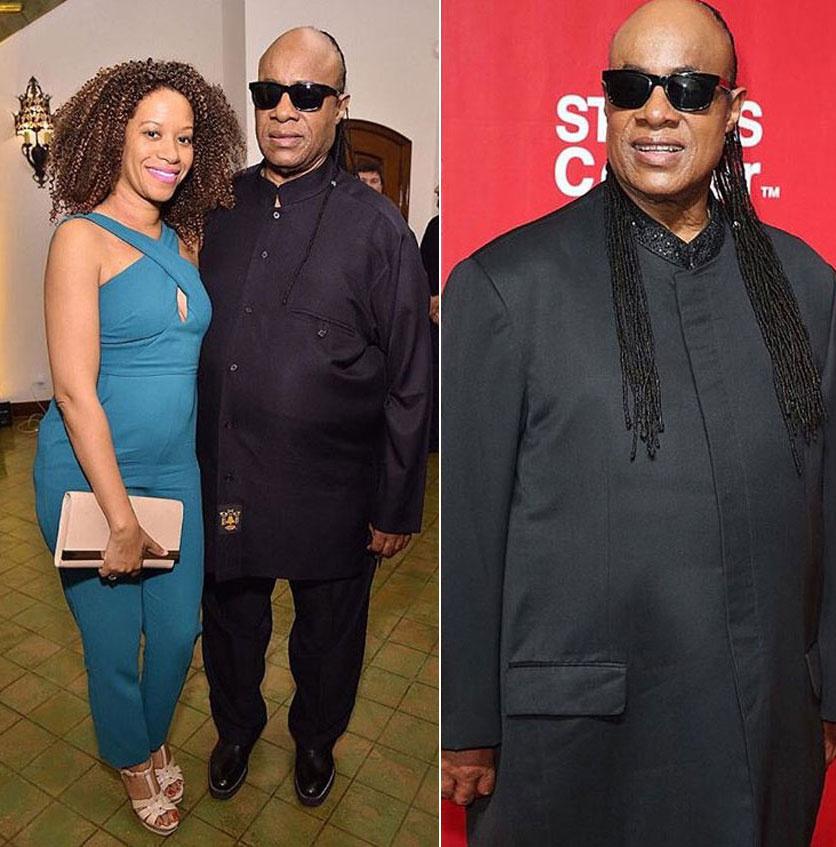 Stevie Wonder mindenben támogatja feleségét.