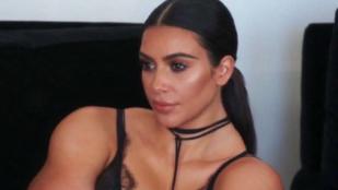 Hiánypótló: a sok meztelenkedés után végre itt van az izmoktól dagadó Kim Kardashian