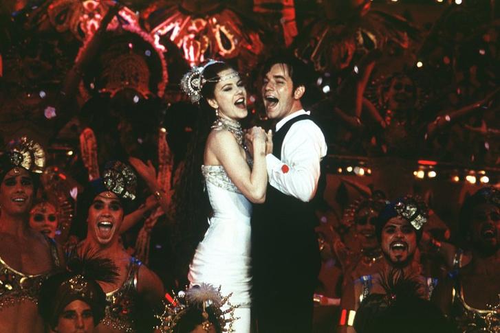 Nicole Kidman és Ewan McGregor a Moulin Rouge! című filmben