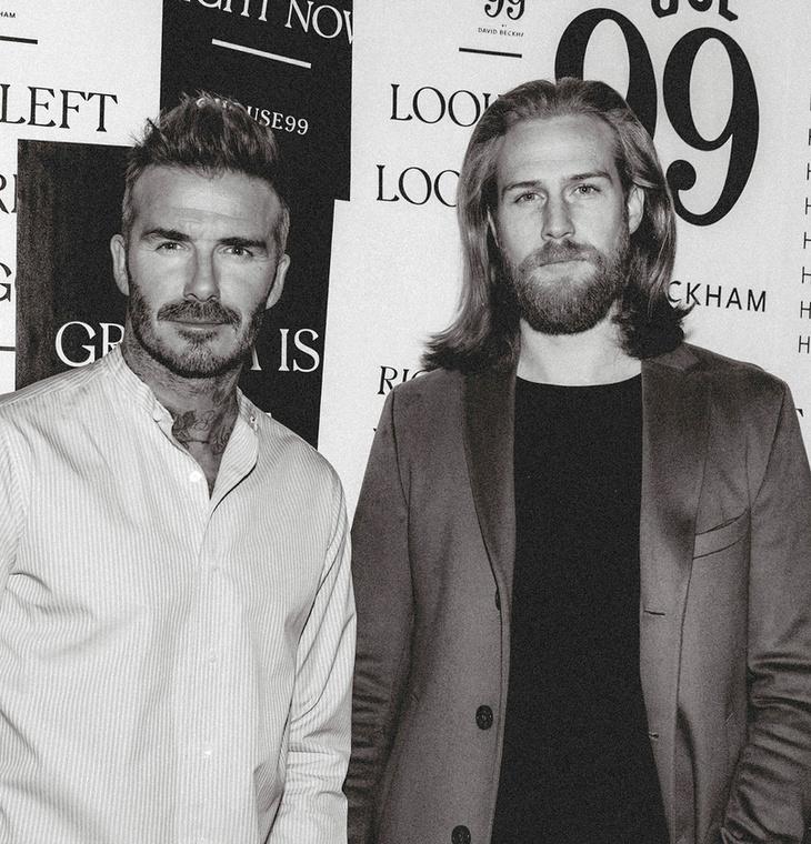 ...és David Beckhammel is annyit dolgozott együtt, hogy régi cimborájának nevezi az ex-focistát