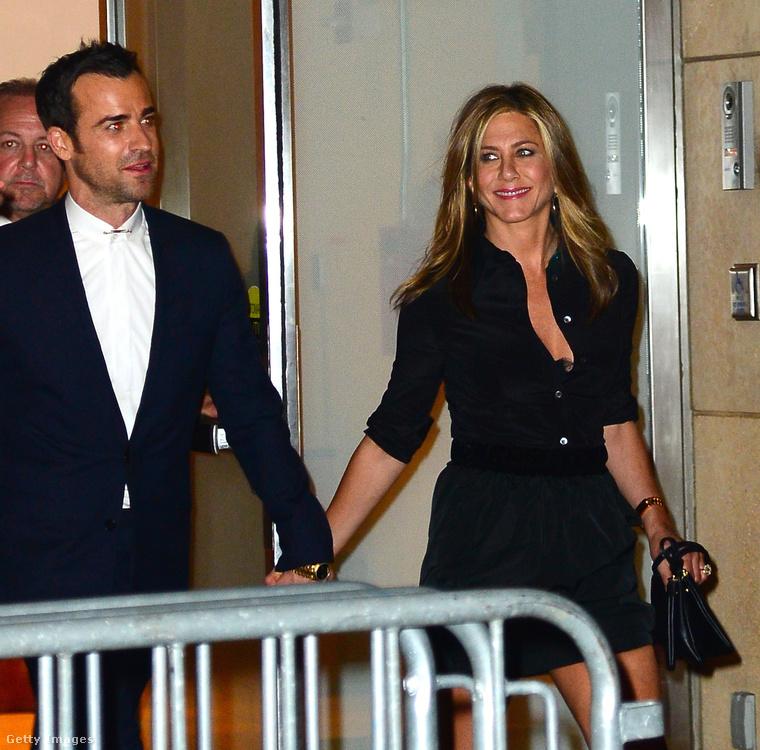 Aniston és Theroux 7 évig voltak együtt.