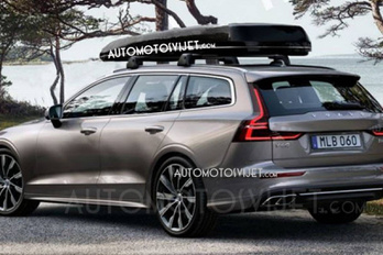 Kicsúszott az új Volvo V60