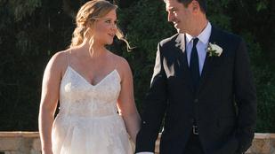 Amy Schumer titokban férjhez ment