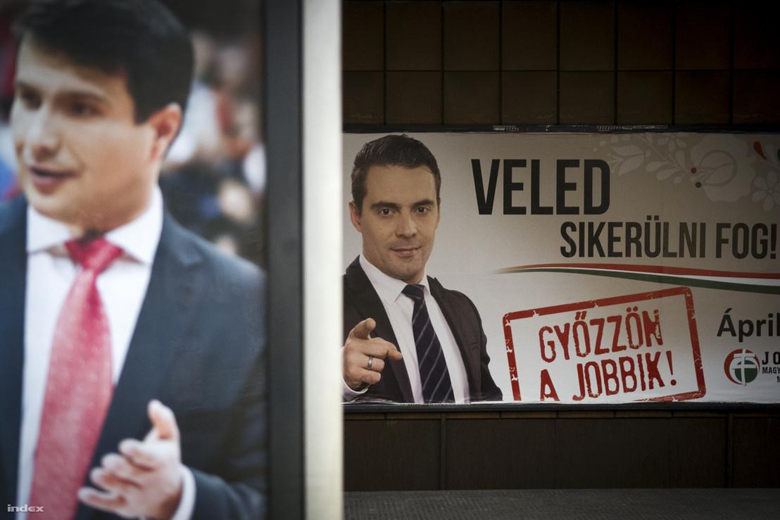 Választási plakátk 2014-ben