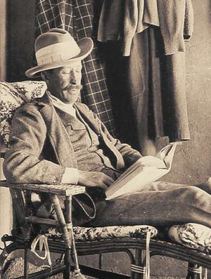 George Herbert, Carnarvon 5. grófja, Howard Carter otthonában, a Théba nyugati partján