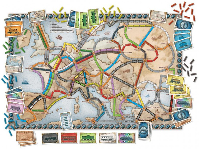 Ticket to Ride Europa ASM34536 14851748130266