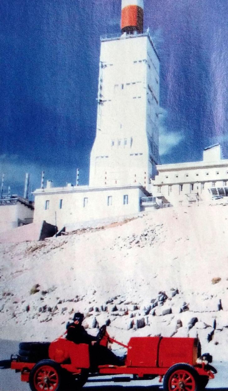 Mont Ventoux tetején