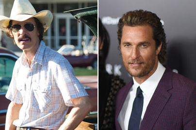 Matthew McConaughey átalakulás cover
