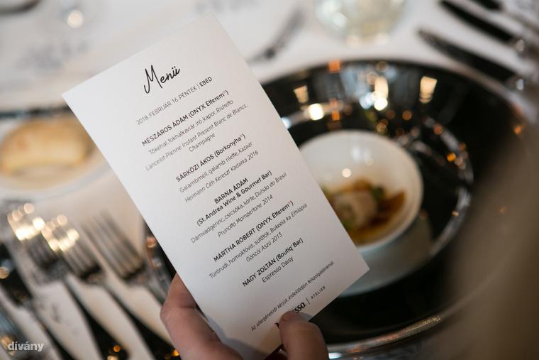 Mi a Nespresso Atelier rendezvénysorozatot megnyitó ötfogásos ebédmenüt ettük végig.