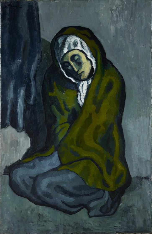 Pablo Picasso: Kuporgó nő