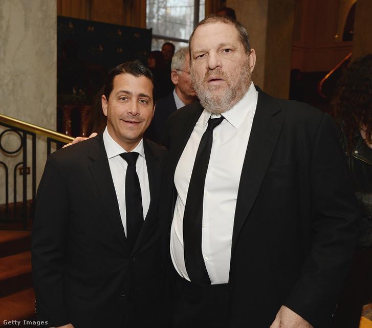 David Glasser és Harvey Weinstein
