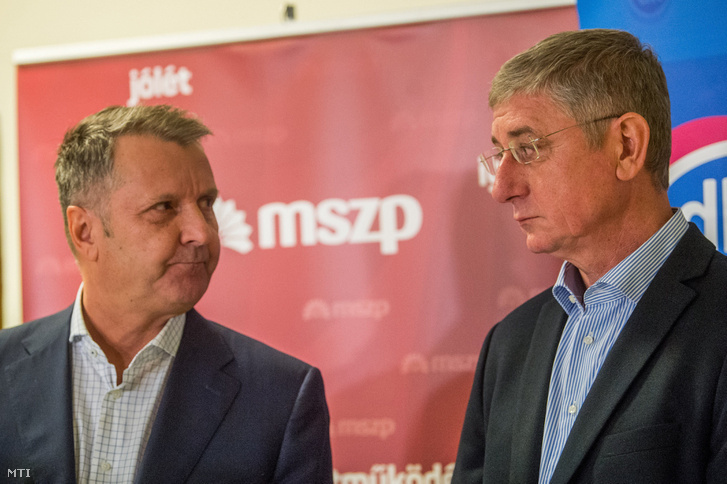 Molnár Gyula és Gyurcsány Ferenc