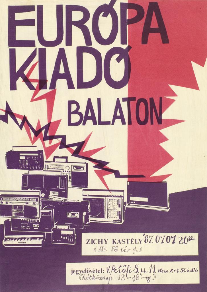 Europa Kiado Balaton P870707a