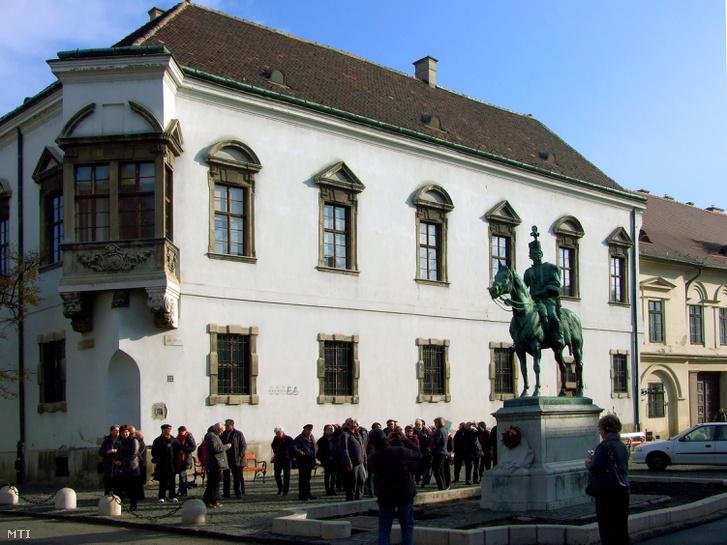 Az épület 2013-ban