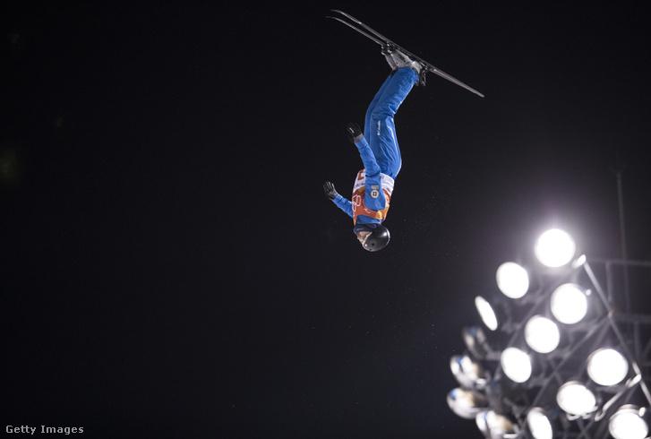 Jonathon Lillis a síugrás döntőjében 2018. február 18-án, Phjongcshangban