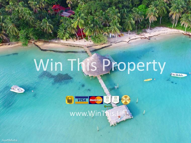 Van egy külön honlap, ahol venni kell egy 10 dolláros jegyet, amivel vagy nyer az ember egy irgalmatlan pénzeket érő panamai ingatlan az esőerdő szélén és az óceán partján.