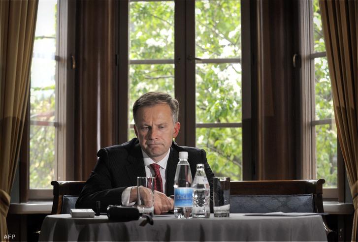 Ilmars Rimsevics, a lett központi bank elnöke