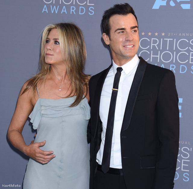Justin Theroux  Jennifer Aniston (1)