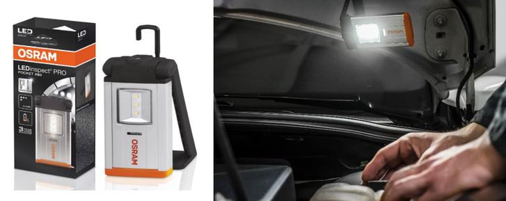 LEDinspect® PRO POCKET 280                         Elegáns alumínium kivitelű szerelőlámpa főként precíziós munkavégzéshez
