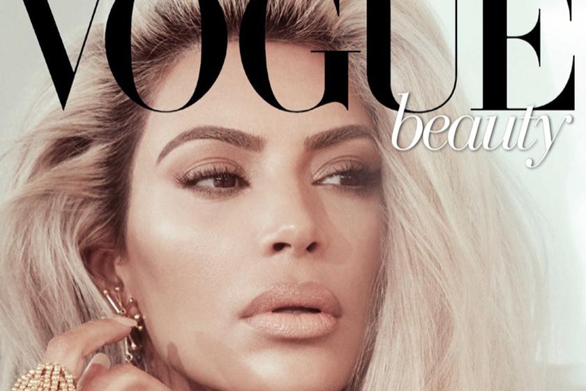 Felismernéd erről a címlapról Kim Kardashiant? Nem ezt szoktuk meg tőle
