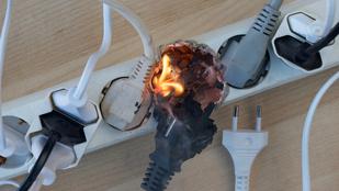 Ezek az elektronikai termékek okozzák a legtöbb lakástüzet