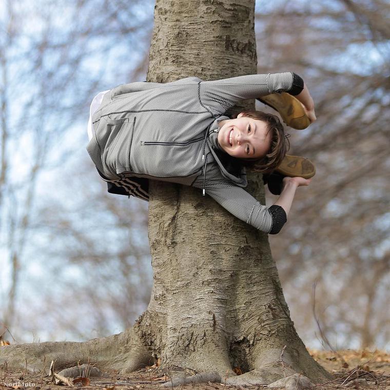 Például, hogy rá tud tekeredni egy fára
