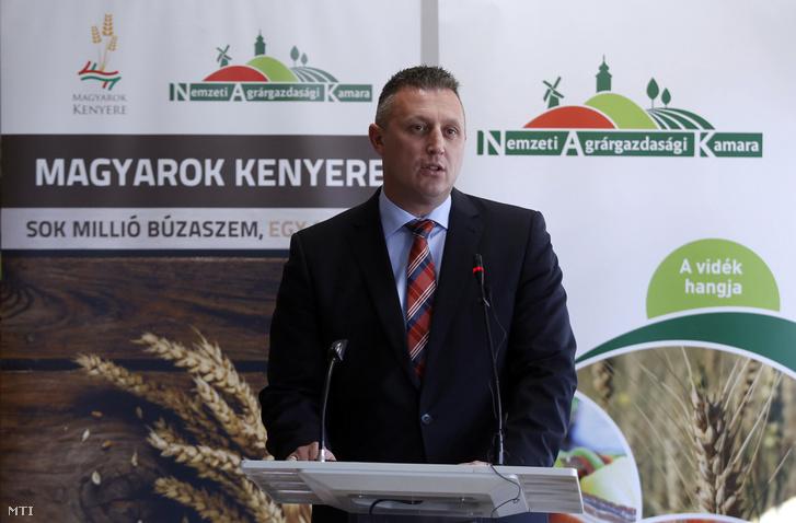 Győrffy Balázs, a Nemzeti Agrárgazdasági Kamara elnöke