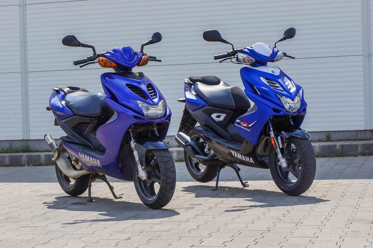 Yamaha Aerox 50:                         A Yamaha az Aeroxszal indult 1997-ben a sportrobogók mezőnyében