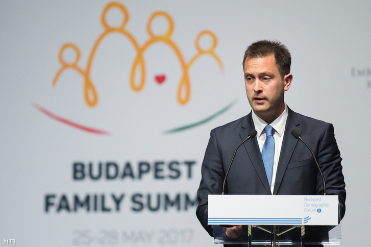 Martin Strmota a Családok budapesti világtalálkozóján Budapesten 2017 májusában