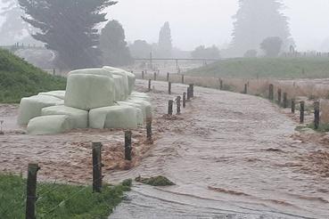 Bainhamben komoly károkat okozott az áradás