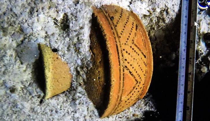 Lelet a Sac Actun barlangrendszerből