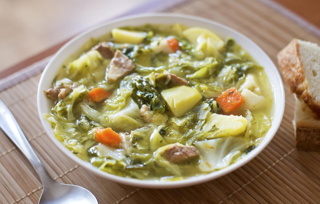 magyaros kelkáposzta leves