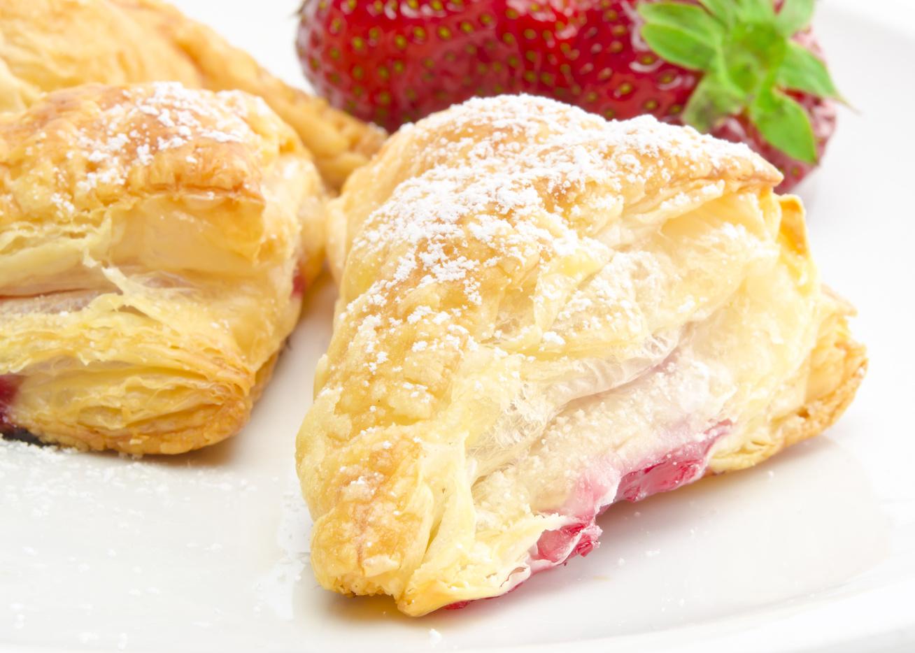 Ropogós, gyors lekváros táska: ilyen finomat nem kapsz a pékségben