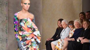 II. Erzsébet beült Anna Wintour mellé egy divatbemutatóra