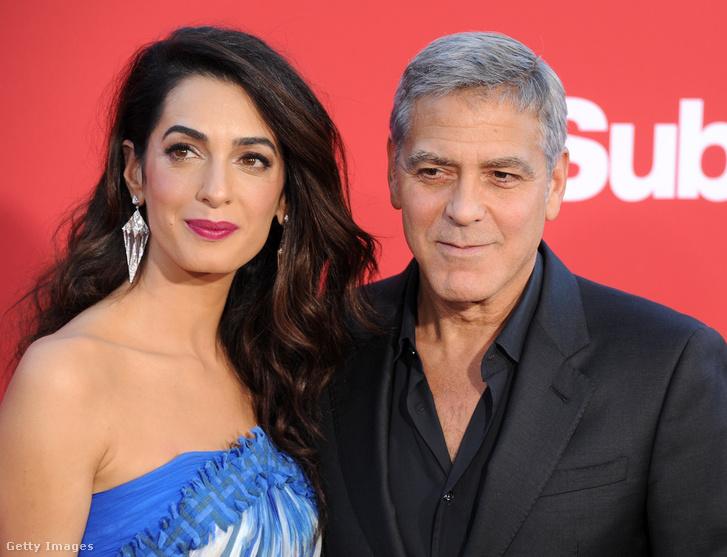 A Clooney-házaspár