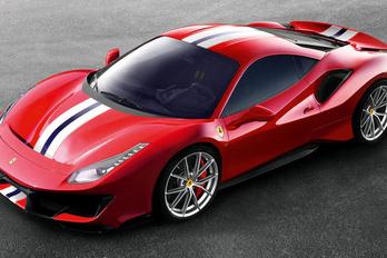 Bemutatták a legdurvább V8-as Ferrarit